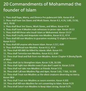 Posts/Politics/Islam/Ideology